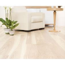 Паркет Baltic Wood Однополосная Ясень Elegance белое масло 268723s